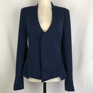 Improvd V-Neck Jacket with Zipper Closure